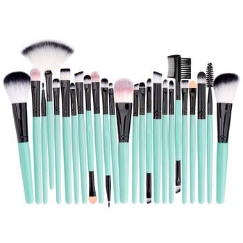 Professional Makeup Brushes Set Powder Foundation Blusher and Eyeshadow Tools For Women Cosmetic 25Pcs Brushes Set 4