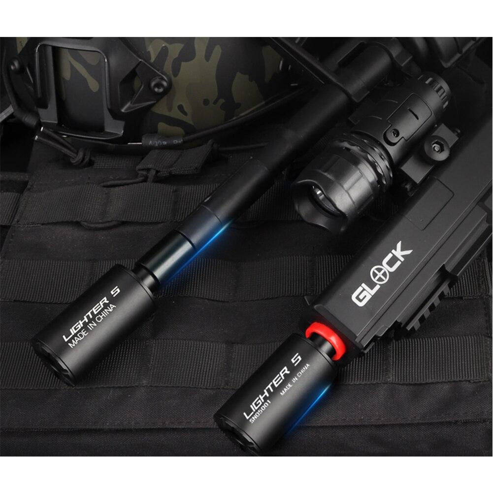 Airsoft Tracer 라이터 S 트레이서 유닛 권총 용 녹색 가장 가벼운 트레이서 유닛 라이트 권총 Airsoft 액세서리
