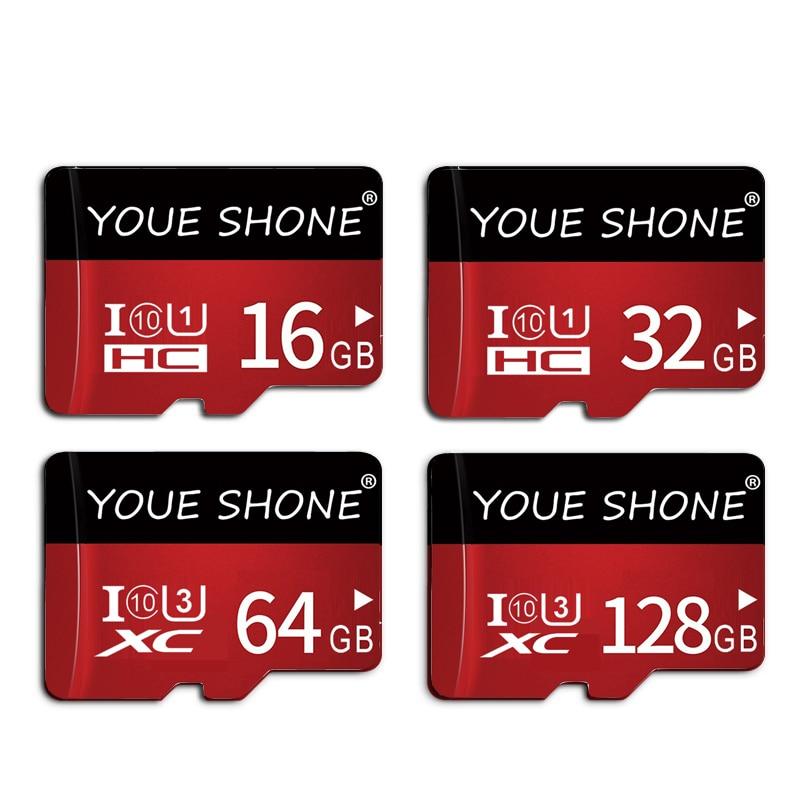 Micro Sd Card 64gb 128gb 256gb 32gb 16gb 8gb TF/SD Card Memory Card Microsd Card SDXC SDHC Class 10 Flash Drive For Smartphone
