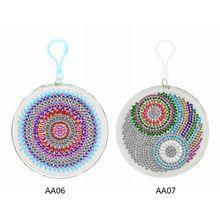 Diamond Painting Wallet Bag Cartoon Animal Pattern Coin Purse Keychain Pendants цена 2017