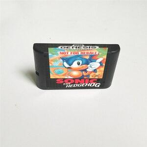 Image 2 - Игровая приставка Sonic the Hedgehog США, 16 бит, в розничной упаковке