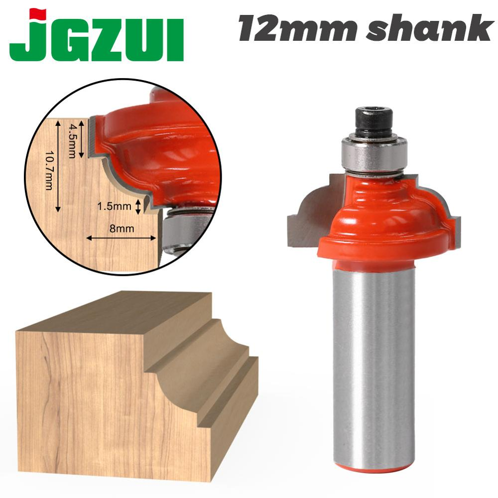 1pcs12mm Shank Wood Router Bit Straight End Mill Trimmer Cleaning Flush Trim Corner Round Cove Box Bits Tools Milling Cutter