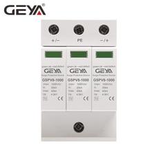 GEYA PV SPD 2P 3P 600V 1000V DC Surge Protector 500V 40KA