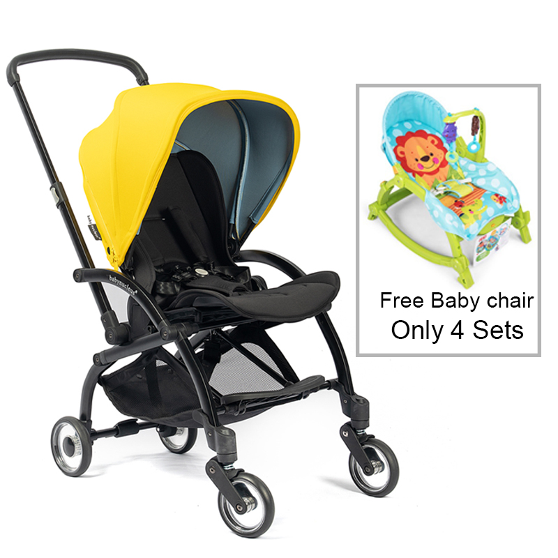 Urban One-Piece Fold Baby Stroller With Reversible Seat High Quality Infant To Toddler Pram