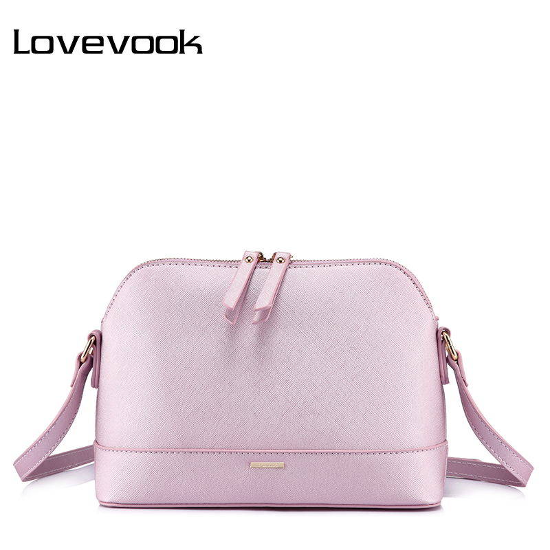 LOVEVOOK Messenger Bags For Women Shoulder Crossbody Bag Female Handbags High Quality PU Ladies Bags 2018 Small Shell Envelop