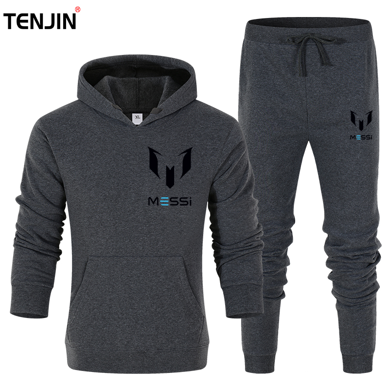 Brand Men Sportswear Sweatshirt 2 in 1sets track suit Male Casual fashion Joggers Streetwear Running Fleece keep warm Suits 6XL