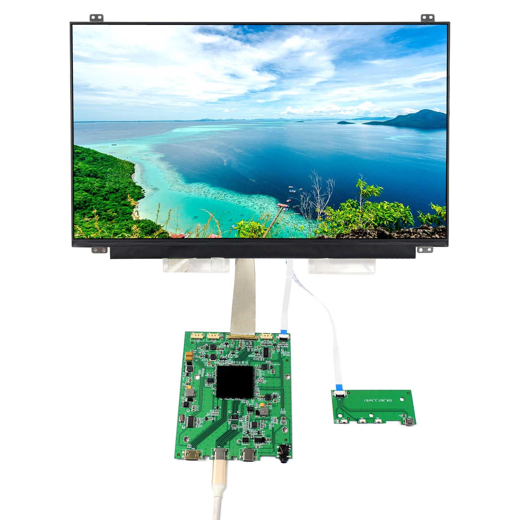 NV156QUM N44 15 6 inch 3840X2160 IPS LCD 4K Screen with Mini HDMI Type C LCD