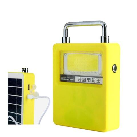 luz de trabalho solar portatil lampada acampamento usb carga solar luz trabalho para ligthing seguranca