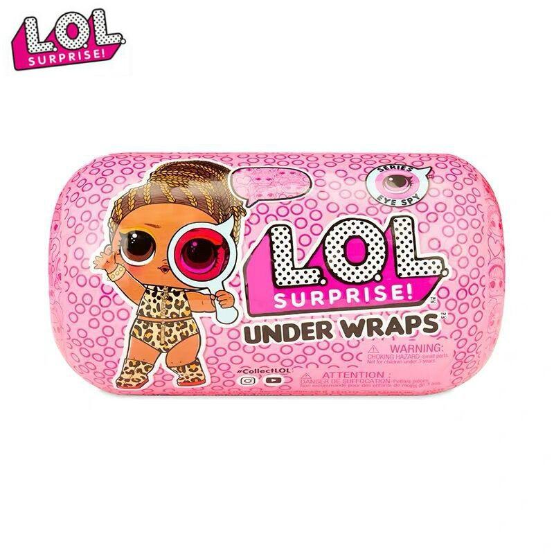 Original Lol Dolls Surprise Beautiful Hair Doll 5 Generation DIY Manual Blind Box Fashion Model Doll Toy Gift  Girl Toys