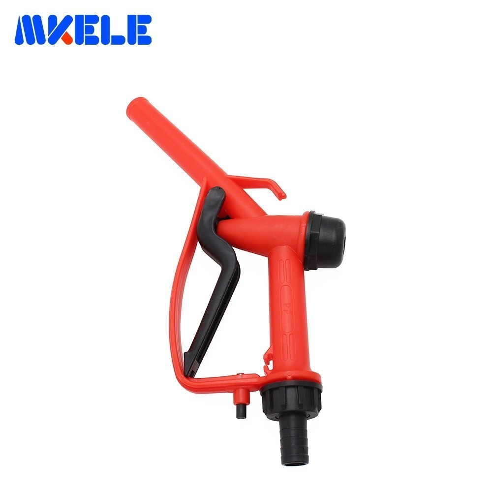 Plastic Manual Refueling Gun Gasoline Diesel Oil Filling Pump Self-flow Refueling Gun Refueling Oil Pump (Random Color)
