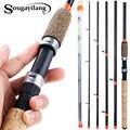 Sougayilang 3 м кормушка L m H мощность Удочка Сверхлегкая вес 6 секций карбоновая спиннинговая удочка для путешествий рыболовные снасти De Pesca