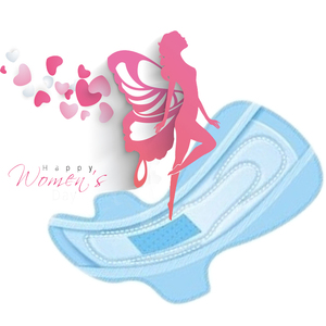 Image 2 - 5 paket = 40 adet umumi tuvalet havlusu regl pedleri kullanımı gece aşk ay negatif iyon pedi anyon sıhhi peçeteler Lovemoon külot astar