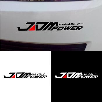 Car Sticker JDM POWER Car Sticker Window Bumper Decal for Toyota Honda Volkswagen Mitsubishi автоаксессуары для авто 2020 image