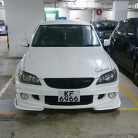 For Lexus IS200 IS250 IS300 Carbon Fiber Front Side Body kit Bumper Lip Splitter Apron Universal
