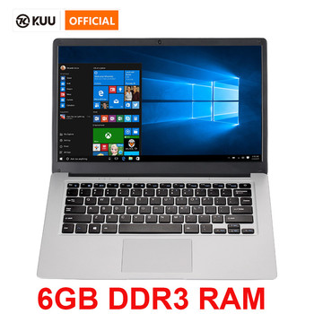 14.1 inch Student Laptop 6GB RAM 64GB ROM Intel Celeron N3350 Computer with Bluetooth Camera for game netbook