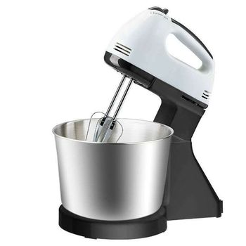 Ue podłącz elektryczne mieszadło do żywności 7 prędkości regulowany Blender trzepaczka do jajek krem automatyczne mieszanie pulpit trzepaczka do kuchni domowej B tanie i dobre opinie 100 w 220 v NONE CN (pochodzenie) ABS+stainless steel 120W 220V 1 7L app 18x9x18 5x16cm 7 09x3 54x7 28x6 30in EU Plug