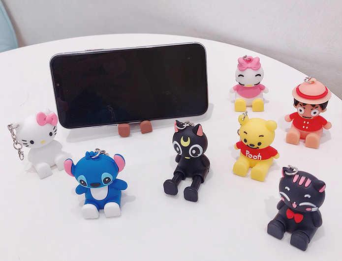 2020 NEUE Nette Cartoon Handy Universal Halterung Tier Bär Puppe Stand Telefon Halter Telefon Zubehör Halter für Smartphone