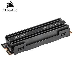 Image 3 - CORSAIR unidad de almacenamiento de estado sólido, serie Force, MP600, SSD, NVMe, PCIe Gen 4,0, X4, M2, SSD, 1TB, 2TB, MB/s 4950, M2, 2280, SSD