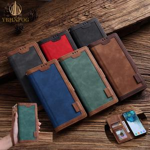 Classic Retro Business Leather Flip Case For Huawei P Smart 2020 P30 Pro P40 Lite Y5 Y6 Y7 Prime 2019 Holder Wallet Stand Cover