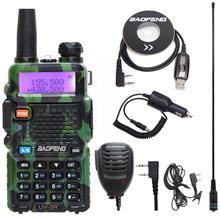 Baofeng walkie talkie UV 5R İki yönlü cb radyo yükseltme sürümü baofeng uv5r 128CH 5W VHF UHF 136 174 mhz & 400 520Mhz