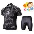 Marvel, супер герой, Человек-паук, Велоспорт, Джерси, набор для детей, Детский Майо, дышащий, одежда для велоспорта, Ropa Ciclismo, велосипедная одежда