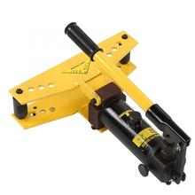 Tube-Bender Pipe Hydraulic-Cylinder Bending-Machine Formers-Tools And with 4pcs Plastic