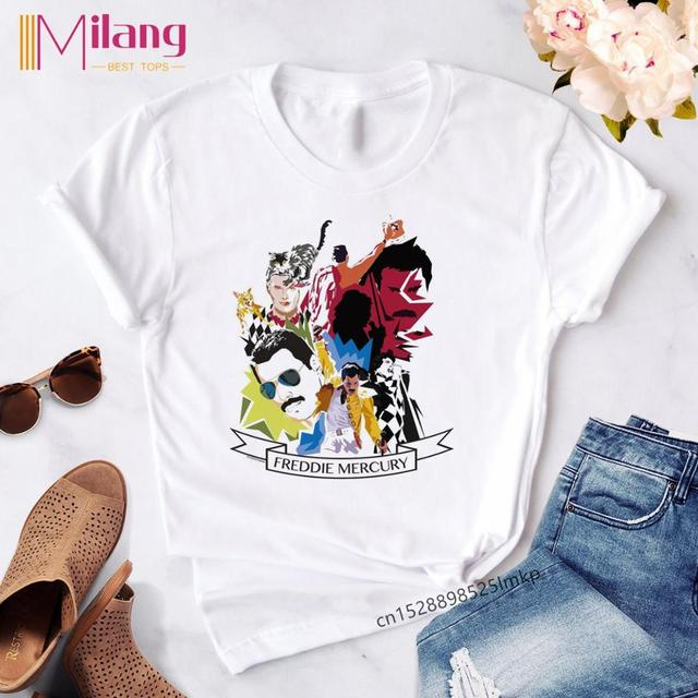I/'m In Love With My Cute Cat Queen Rock Band Black T-Shirt S-6XL Freddie Mercur