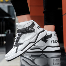 Basketball-Shoes Sport Training-Sneakers Boy Man Outdoor Breathable High Men