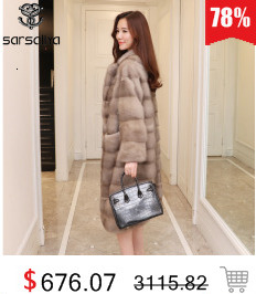 Real Fur Coat Mink Women Winter Natural Fur Mink Coats And Jackets Female Long Warm Vintage Women Clothes 2019 Plus Size 6XL 7XL 68