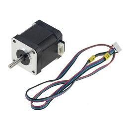 1PC D Axis 42BYGH48 Nema 17 4-lead stepper motor length 48mm 1.5A 0.55N.M 42 motor Nema17 stepper for DIY 3D printer CNC XYZ