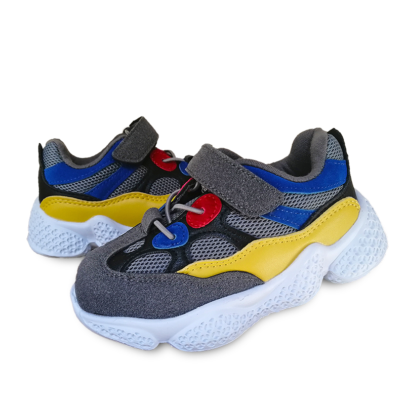 Fashion 1pair Spring Sneaker Mesh Children Orthopedic Shoes, New Kids Shoes