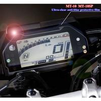 Für Yamaha MT 10 FZ10 SP Motorrad Dashboard Schutz Film Tragen beständig Anti uv Explosion proof Film Blau licht Schutzfolien    -