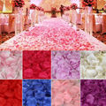 100-5000 шт. романтические красочные искусственные лепестки роз для свадьбы, вечевечерние 11 цветов, 4,5*4,5 см искусственные лепестки 5Z