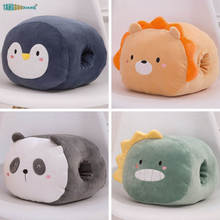 25cm Penguin panda hand warmers lion dinosaur plush toys lobster whale Soft stuffed animals dolls cute kids toy gifts