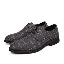 Korean Casual Shoes Lace Up Black Men Oxford Man Flat Shoes Eu Size 38-44 Comfortable Leather Shoes Men Business Work Shoes % snj men s stylish casual canvas shoes blue white eu size 44