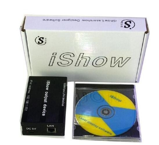 Free Shipping New Version Pangolin Quickshow Laser Software With USB Power Supply ILDA For Laser Lighting