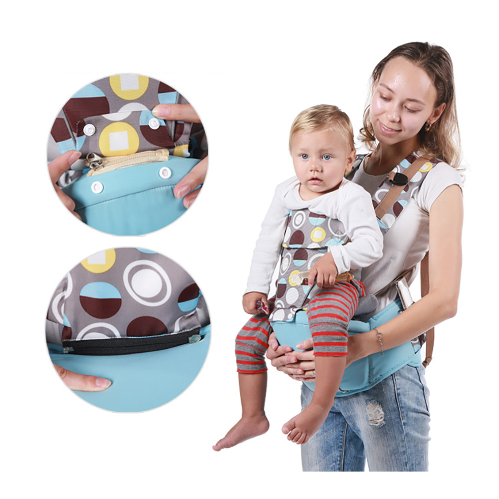 Multi-functional Soft Baby Carrier Front Facing All Seasons Baby Travel Waist Stool Breathable Infant Baby Hipseat Portable