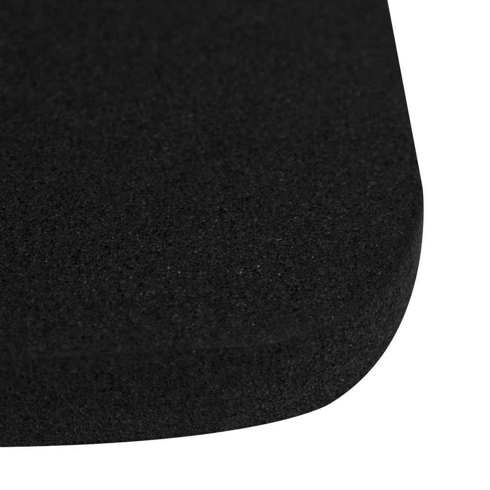 4 stücke Multifunktions Waschmaschine Schock Stumm Pads 4 stücke/set Schwarz Kühlschrank Nicht-slip Anti-vibration matten Bad Zubehör