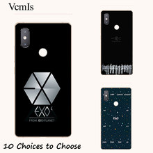 EXO k-pop collage silicone Painting Case For BQ Aquaris C V VS U2 Lite X X2 Pro vsmart Active Joy 1 Plus Phone Printed Cover(China)