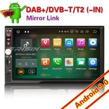Reproductor Multimedia estéreo con WIFI para coche, reproductor estéreo Universal con Android 4841, 2 Din, 4G, DAB + OBD, TPMS, 7941, 9,0