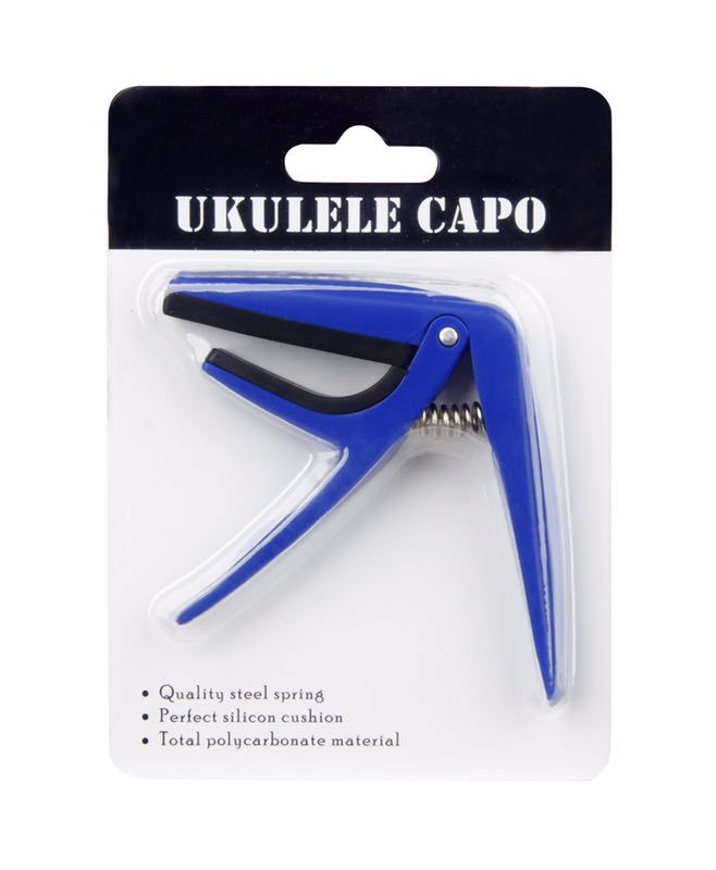 Professional Ukulele Capo 4 Strings Hawaii Capos Single-handed Quick Change Ukulele Capo Ukulele Parts & Accessories
