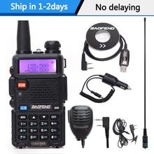 ווקי טוקי Baofeng UV 5R רדיו תחנת 128CH VHF UHF רדיו cb נייד baofeng uv 5r רדיו עבור ציד uv5r חזיר