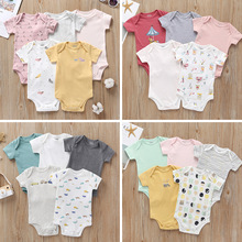 5Pieces/Lot Newborn Baby Sliders Boys Outfits Baby