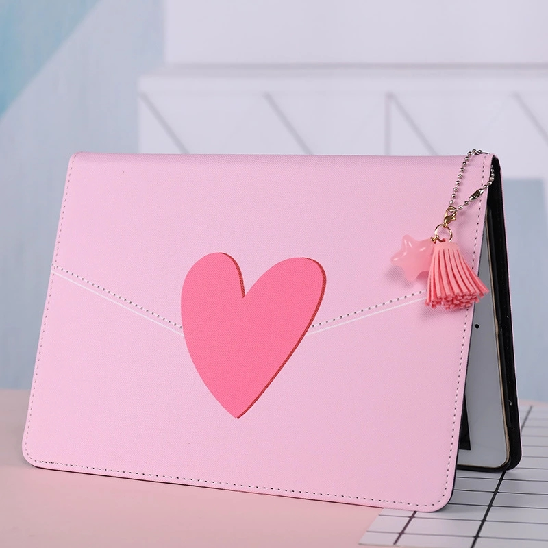 """Pink Heart Style Magnetic Flip Cover For iPad Pro 9.7"""" 10.5 11 Air Air2 Mini 1 2 3 4 Tablet cover Case for New iPad 9.7 2017"""