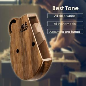 Image 2 - Aklot 17 Key Kalimba Thumb Piano Solid Walnut Wood Marimba Kit with Sticks Case Bag Tuning Hammer Booklet Full Accessories