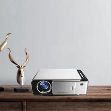 цена на WL-T6 Mini LED Projector Multi-language 1080P HD Projection Home Cinema Theater USB HDMI AV Multimedia Portable WIFI Projector