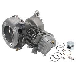 Kit de pistón de la cubierta de la cabeza del cilindro del juego del cigüeñal para Honda GX25 GX25N FG110 HHT25S WX10K1 MPN 12310-Z0H-010