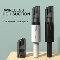 Car Wireless Vacuum Cleaner,Car Hand-Held Portable Vacuum Cleaner, 120W High-Power Household Dual-Use Strong Suction Mini Clean