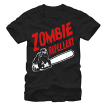 2019 Fashion 100% Cotton T Shirt Zombie Repellent Mens Graphic Tee Hoodies