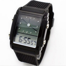 Fashion Womens Mens Digital Watch Led Chronograph Quartz Sport Wrist